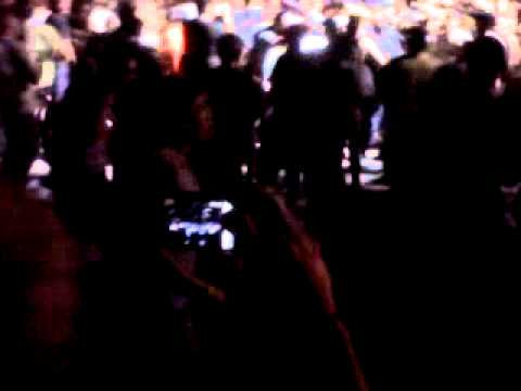 Dana White In Mosh Pit LA Rising