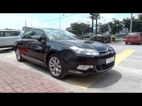 2012 Citroen C5 Exclusive Start-Up and Full Vehicle Tour