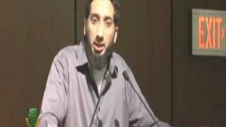 My sister gets the best sleep of her life during my lectures…FUNNY Nouman Ali Khan…