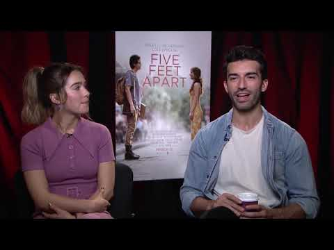 Interview: Haley Lu Richardson And Justin Baldoni (Five Feet Apart)