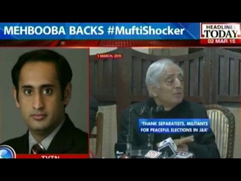 Mufti Mohammad Sayeed's Statements A Strategic Move?