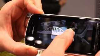 Nokia 808 PureView gallery and camera interface demo