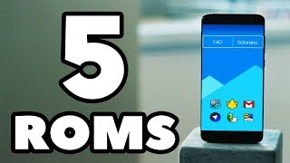 Top 5 BEST Custom ROMs in 2019 - Flasholic Special