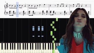 download lagu Dua Lipa - New Rules - Piano Tutorial + gratis