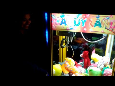 CLAW MACHINE on the street in San Francisco Mission