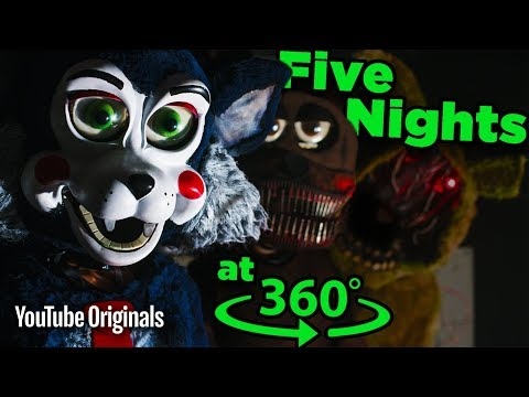 Don't SCREAM! Surviving Five Nights at Candy's - Game Lab 360 Video