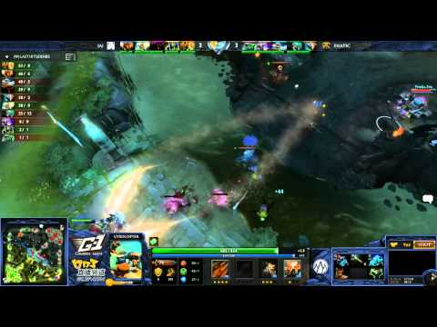 Fnatic vs Alliance - Game 1 (G-1 League - NA/EU Qualifier)