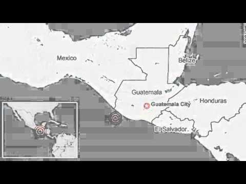 Strong Earthquake Hits Mexico, Guatemala; 4 Dead 7 July 2014
