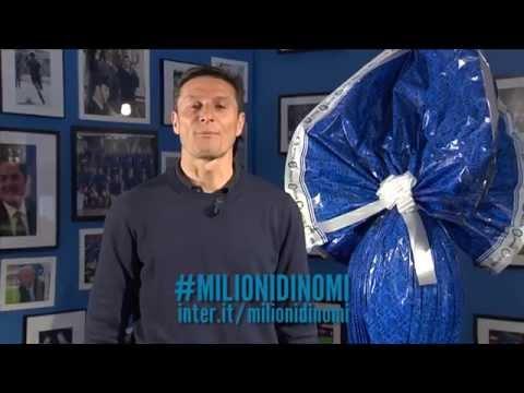 Gli auguri di buona Pasqua da Javier Zanetti