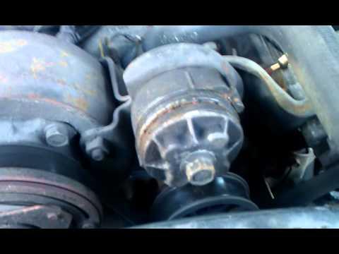 alternator replace on 1989 chevy silverado