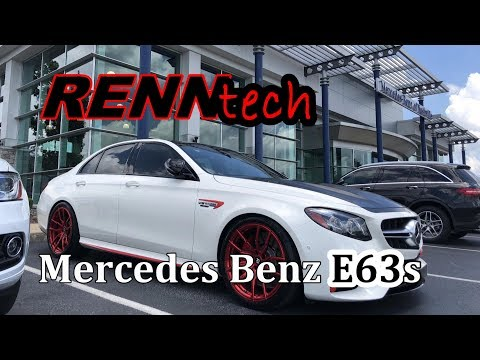 The RENNtech E63s Mercedes Benz. 840hp, Comfort or Crazy?