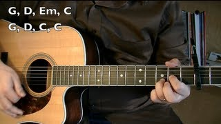 Wagon Wheel - Guitar Lesson (OCMS or Darius Rucker)