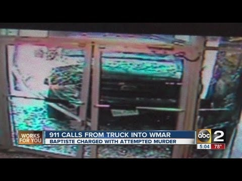 911 calls released in truck incident at WMAR