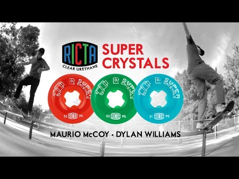 Ricta Super Crystals test at Lincoln Skatepark
