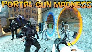 Half-Life 2 with the Portal Gun!