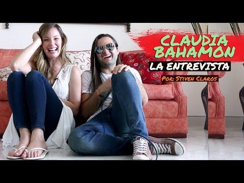 CLAUDIA BAHAMON - LA ENTREVISTA MAS DIVERTIDA