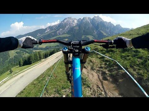 GoPro: Wild Downhill Ride with Claudio Caluori