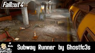 Fallout 4 Mod Showcase: Subway Runner by Ghostfc3s