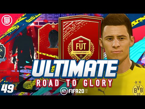 YES!!!! FUT CHAMPS REWARDS!!! ULTIMATE RTG #49 - FIFA 20 Ultimate Team Road to Glory