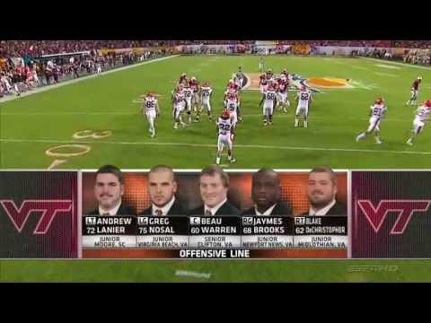 Ncaa football 2011 Orange Bowl Stanford Cardinal at Virginia Tech Huskies