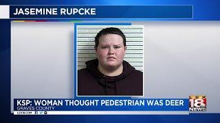 KSP - Woman Thought Pedestrian Was a Deer