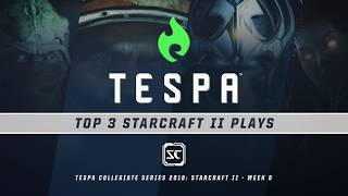 TOP 3 StarCraft 2 Plays - Week 8