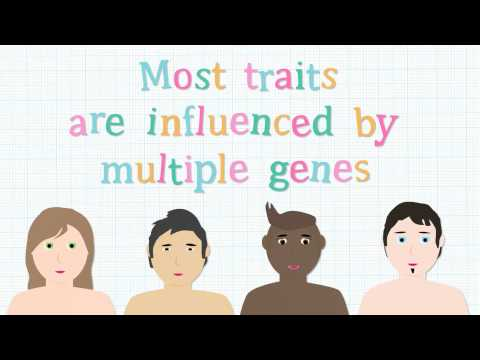 What is meant by genetic difference?