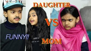 Daughter & Dad VS Mom | FUNNY | Aimalifestyle