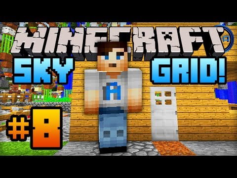 Minecraft SKY GRID - Episode #8 w/ Ali-A! -