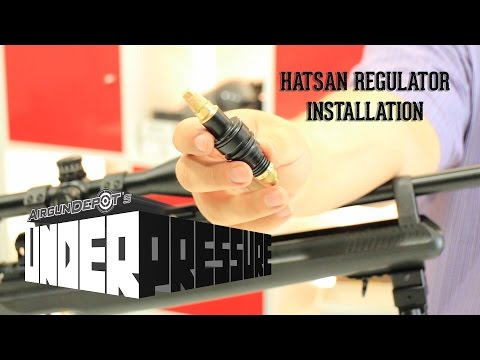 Hatsan AT-44 Regulator Installation