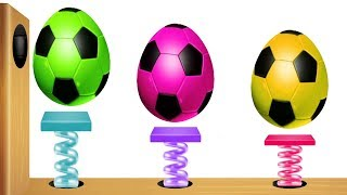 Learn Colors with Surprise Eggs Xylophone Videos for Kids