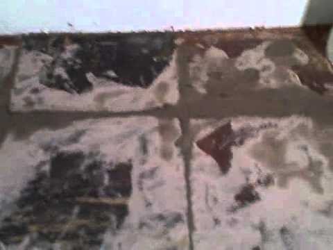 How To Lay Armstrong Peel and Stick Vinyl Tile Over Old Damaged Asphalt Tile Floor
