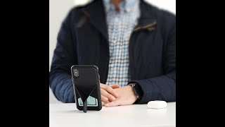 Vista Leather Phone Case with Viewing Stand | SENA Cases