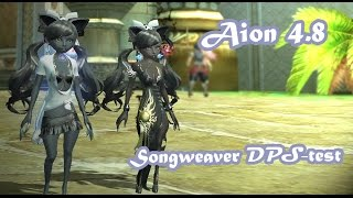 Aion 4.8 - Songweaver DPS-Test (2 mins)