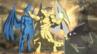 AMV Blue Dragon- Shu vs Rudolph - Last Train