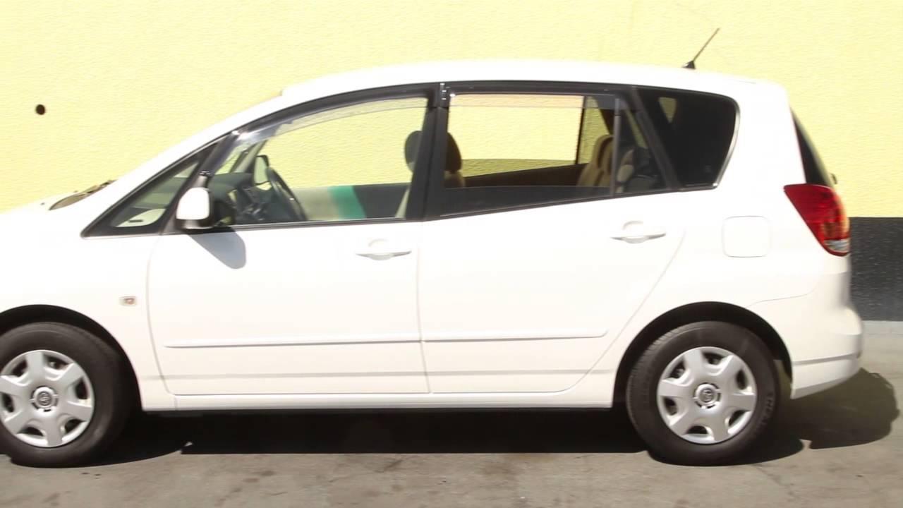 Toyota Corolla SPACIO XG 2005 - YouTube
