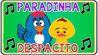 VERSÃO INFANTIL da MÚSICA PARADINHA (Anitta) e DESPACITO - PARÓDIA GALINHA ZINHA e DEZ PATINHOS