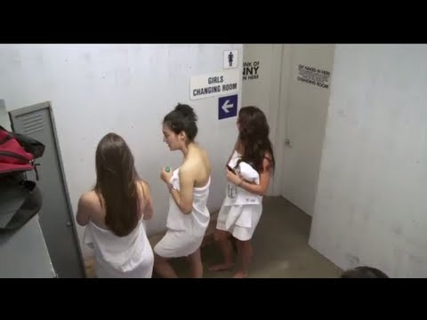 The Changing Room - Girl's Locker Room Prank