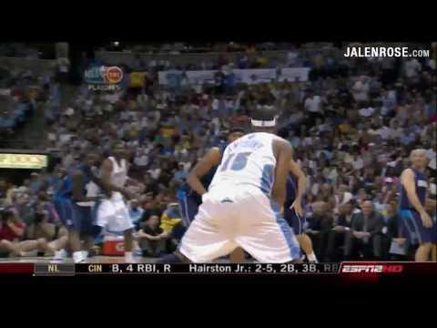 Nuggets vs Mavericks Game 5 5/13/09 - 2009 NBA Playoffs - Jalen Rose on ESPN