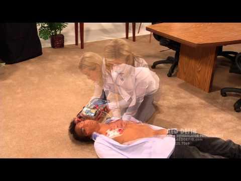 Philips Heartstart FRx: AED DEFIB Demonstration Video