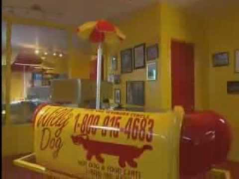 Street Snacks - Willy Dog Hot Dog Carts Video