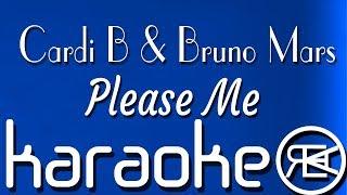 Please Me - Cardi B & Bruno Mars | karaoke, lyrics, instrumental