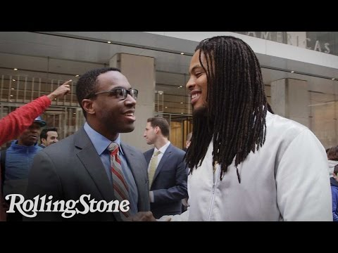 Rapper Waka Flocka Flame Promotes His Presidential Petition In The Streets Of NY [VIDEO]