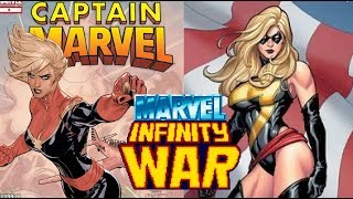 Captain Marvel - Marvel Infinity War