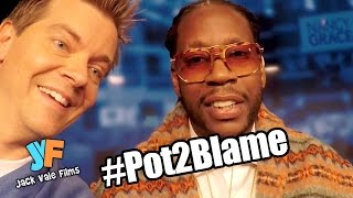 [2 CHAINZ Gets Farted on During Pot Debate with Nancy Grace #...] Video