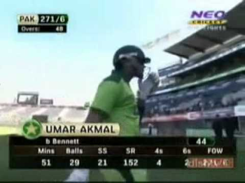 Shahid Afridi Fastest 50 By 19 Balls Against Nz..flv video