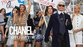 CHANEL Spring 2015 Karl Lagerfeld, Gisele Bundchen | MODTV