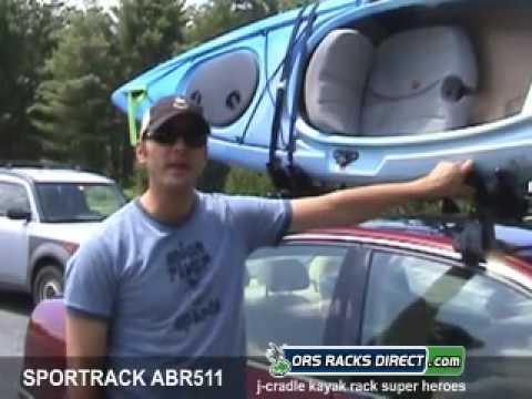 SportRack ABR511 J-Stacker Kayak Rack Review Video & Demonstration