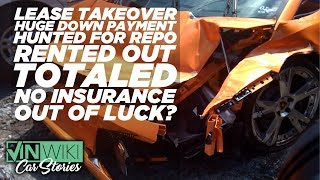 My Gallardo was totaled by the 1st renter