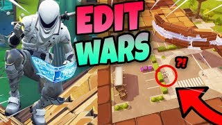 NIEUWE EDIT WARS v2 MET DON & DUNCAN!! | Fortnite Minigames Playground